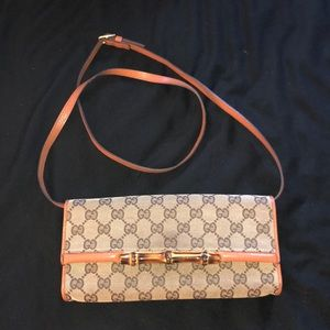 Authentic Gucci bamboo style shoulder bag 💼